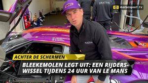 Jeroen Bleekemolen rijderswissel Le Mans