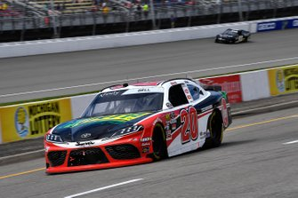 Christopher Bell, Joe Gibbs Racing, Toyota Supra Rheem / RTP pits for fuel