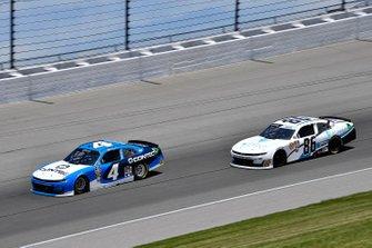 Ross Chastain, JD Motorsports, Chevrolet Camaro Contec and Brandon Brown, Brandonbilt Motorsports, Chevrolet Camaro Vector Security