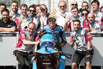 Third place Alex Marquez, Marc VDS Racing