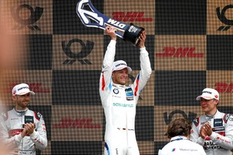 Podium: Race winner Marco Wittmann, BMW Team RMG