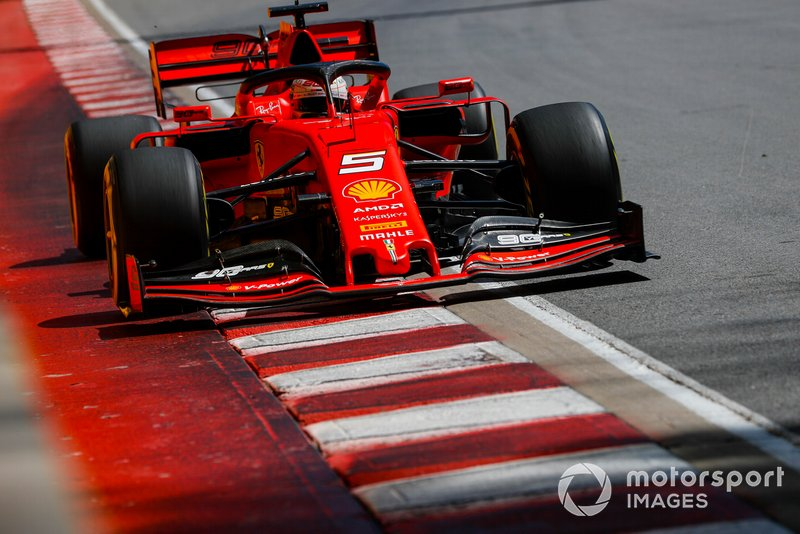 1: Sebastian Vettel, Ferrari SF90, 1'10.240