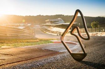 The Niki Lauda Trophy at the new Niki Lauda Corner