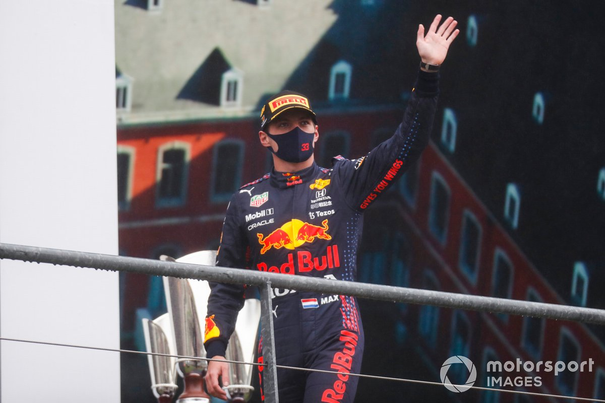 Max Verstappen, Red Bull Racing, 1a posizione