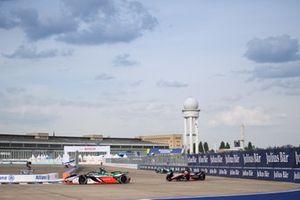 Lucas Di Grassi, Audi Sport ABT Schaeffler, Audi e-tron FE07, Oliver Rowland, Nissan e.Dams, Nissan IMO3