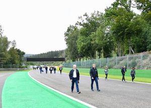 Derek Warwick, Commissaire FIA fait un tour de piste