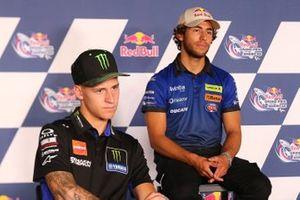 Fabio Quartararo, Yamaha Factory Racing, Enea Bastianini, Esponsorama Racing