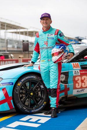 Ben Keating, #33 TF Sport Aston Martin Vantage AMR LMGTE Am