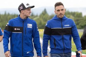 Garrett Gerloff, GRT Yamaha WorldSBK Team, mit Nicola Canepa