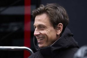 Toto Wolff, Team Principal and CEO, Mercedes AMG, is interviewed for Sky Sports F1