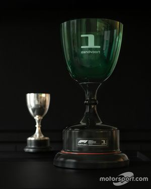 Dutch GP trophy by Heineken inspired by the 1939 trophy