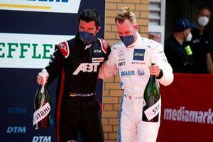 Mike Rockenfeller, Abt Sportsline, Philip Ellis, Mercedes AMG Team Winward