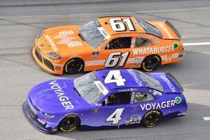 Landon Cassill, JD Motorsports, Chevrolet Camaro Voyager and David Starr, Hattori Racing Enterprises, Toyota Supra Whataburger
