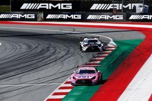 Daniel Juncadella, Mercedes-AMG Team GruppeM Racing Mercedes AMG GT3, Lucas Auer, Mercedes AMG Team Winward Mercedes AMG GT3