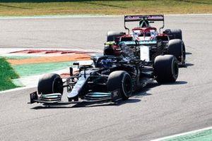Valtteri Bottas, Mercedes W12, Robert Kubica, Alfa Romeo Racing C41