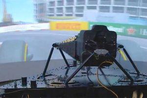 Simulador DGM similar al de Ferrari F1
