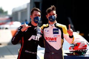 Polesitter Sheldon van der Linde, ROWE Racing, 2. Kelvin van der Linde, Abt Sportsline