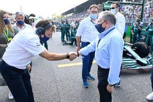 Jost Capito, CEO, Williams, with Jean Todt, President, FIA