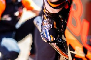 Boot detail of Miguel Oliveira, Red Bull KTM Factory Racing,