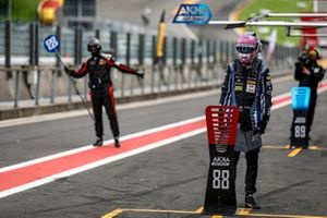#88 AKKA ASP Mercedes-AMG GT3 pit crew members