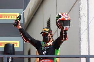 Podio: Jonathan Rea, Kawasaki Racing Team WorldSBK