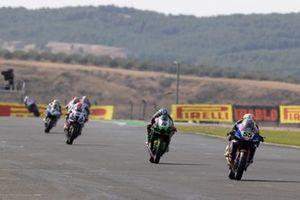 Andrea Locatelli, PATA Yamaha WorldSBK Team, Alex Lowes, Kawasaki Racing Team WorldSBK