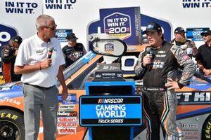 Sheldon Creed, GMS Racing, Chevrolet Silverado Liftkits4less.com wins
