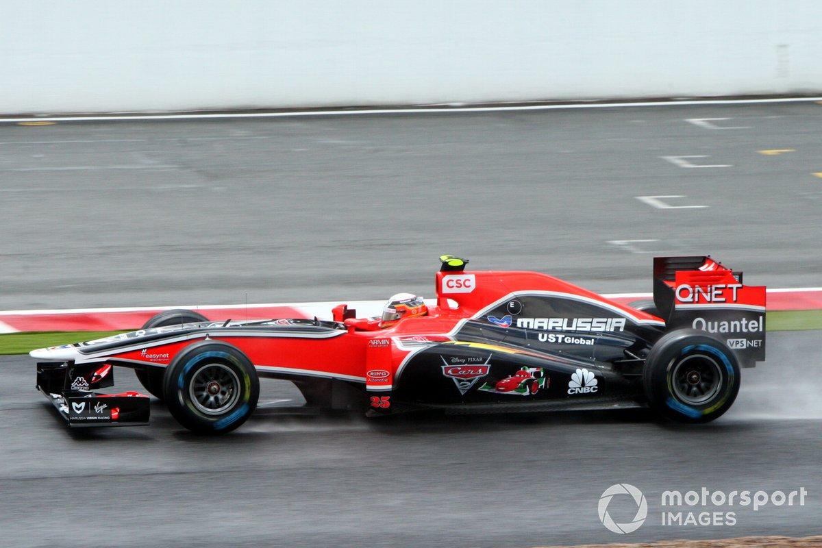Virgin et Cars, GP de Grande-Bretagne 2011