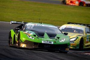 #63 GRT Grasser Racing Team Lamborghini Huracán GT3 Evo: Mirko Bortolotti, Albert Costa Balboa