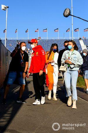 Charles Leclerc, Ferrari arrives