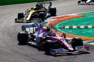 Lance Stroll, Racing Point RP20, Esteban Ocon, Renault F1 Team R.S.20