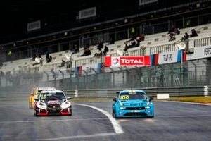 Yvan Muller, Cyan Racing Lynk & Co 03 TCR , Esteban Guerrieri, ALL-INKL.COM Münnich Motorsport Honda Civic TCR