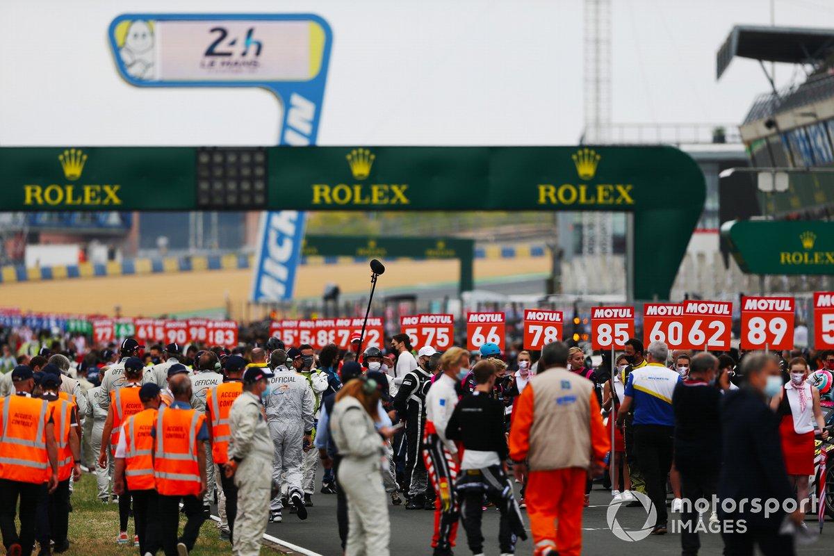 La parrilla de las 24 horas de Le Mans