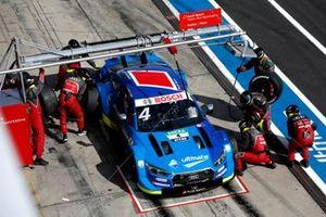 Robin Frijns, Audi Sport Team Abt Sportsline, Audi RS5 DTM, pitstop