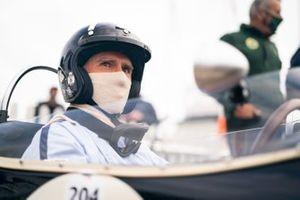 Damon Hill, in cockpit