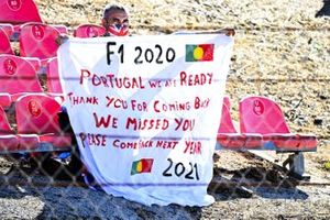 A message to F1 from the Portuguese fans