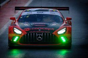#5 HRT Mercedes-AMG GT3: Hubert Haupt, Sergey Afanasiev, Gabriele Piana, Michele Beretta