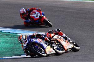 Michael van der Mark, Pata Yamaha, Chaz Davies, Aruba.it Racing Ducati, Leon Haslam, Team HRC