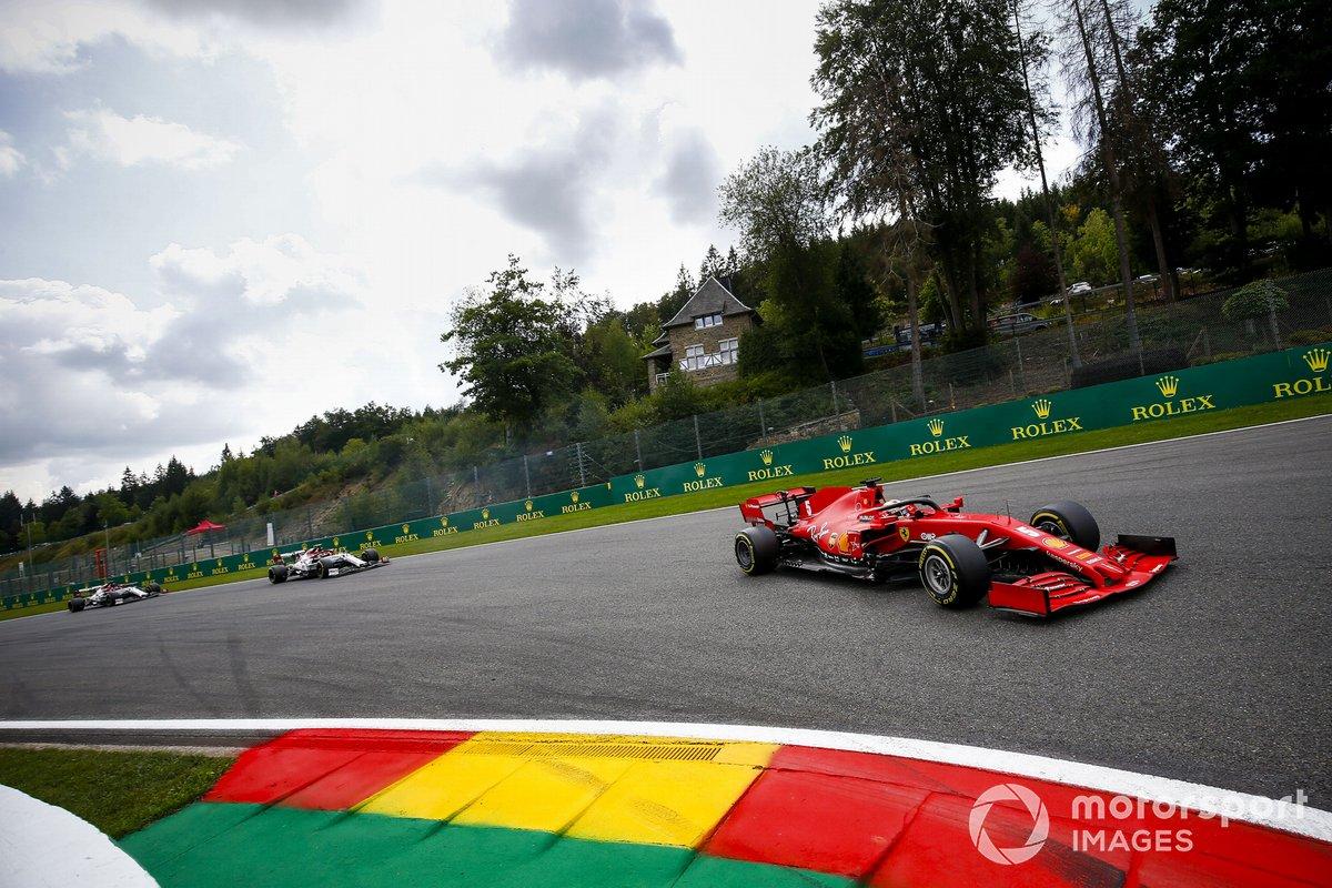 Sebastian Vettel, Ferrari SF1000, Antonio Giovinazzi, Alfa Romeo Racing C39