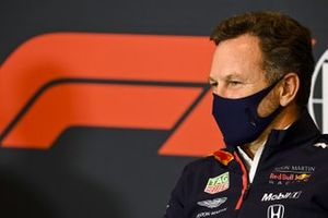Christian Horner, Team Principal, Red Bull Racing in conferenza stampa