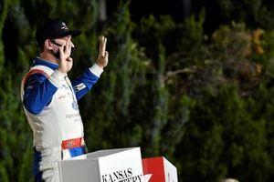 Race winner Chase Briscoe, Stewart-Haas Racing, Ford Mustang