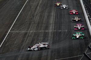 Will Power, Team Penske Chevrolet leads the pack