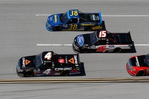 Raphael Lessard, Kyle Busch Motorsports, Toyota Tundra Canac, Todd Gilliland, Front Row Motorsports, Ford F-150 Speedco, Tanner Gray, DGR-Crosley, Ford F-150 Ford Performance