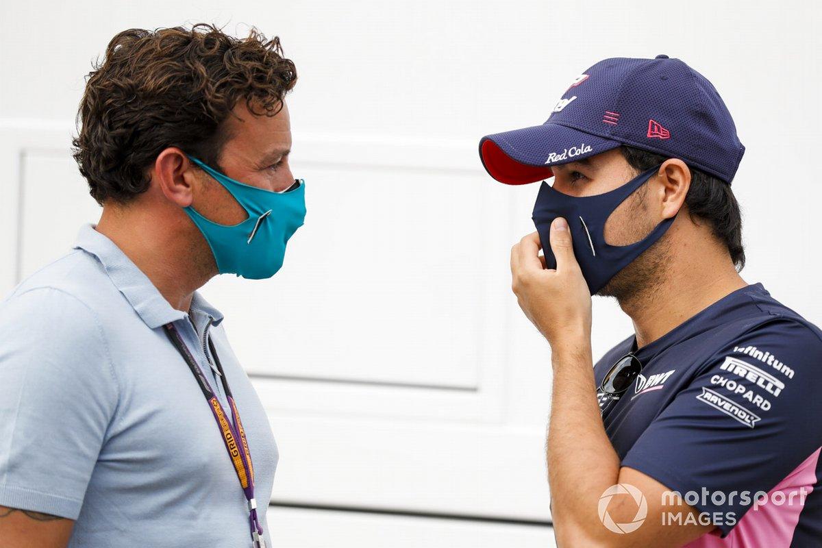 Sergio Pérez, Racing Point con Will Buxton