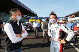 François Ribeiro, Head of Eurosport Events, WTCR Promoter, Jean-Karl Vernay, Mulsanne Alfa Romeo Giulietta TCR