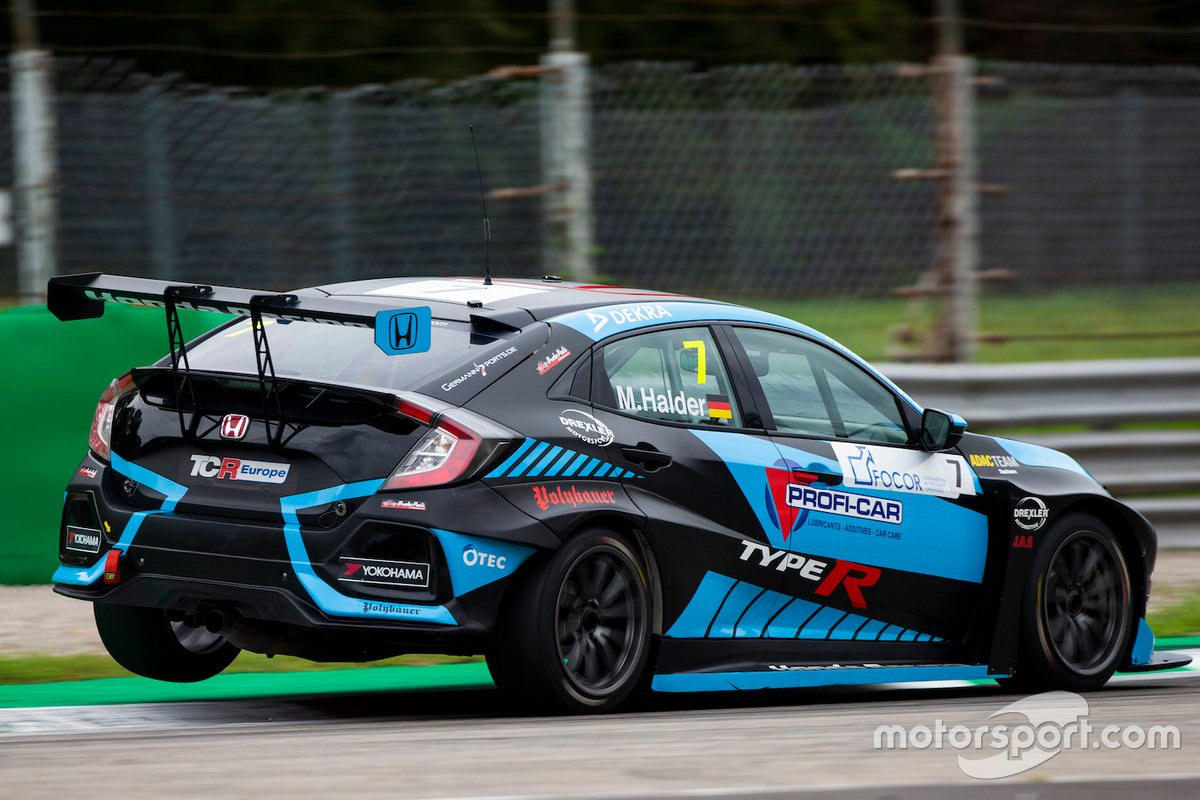 Mike Halder, Profi Car Team Halder, Honda Civic Type R FK7 TCR