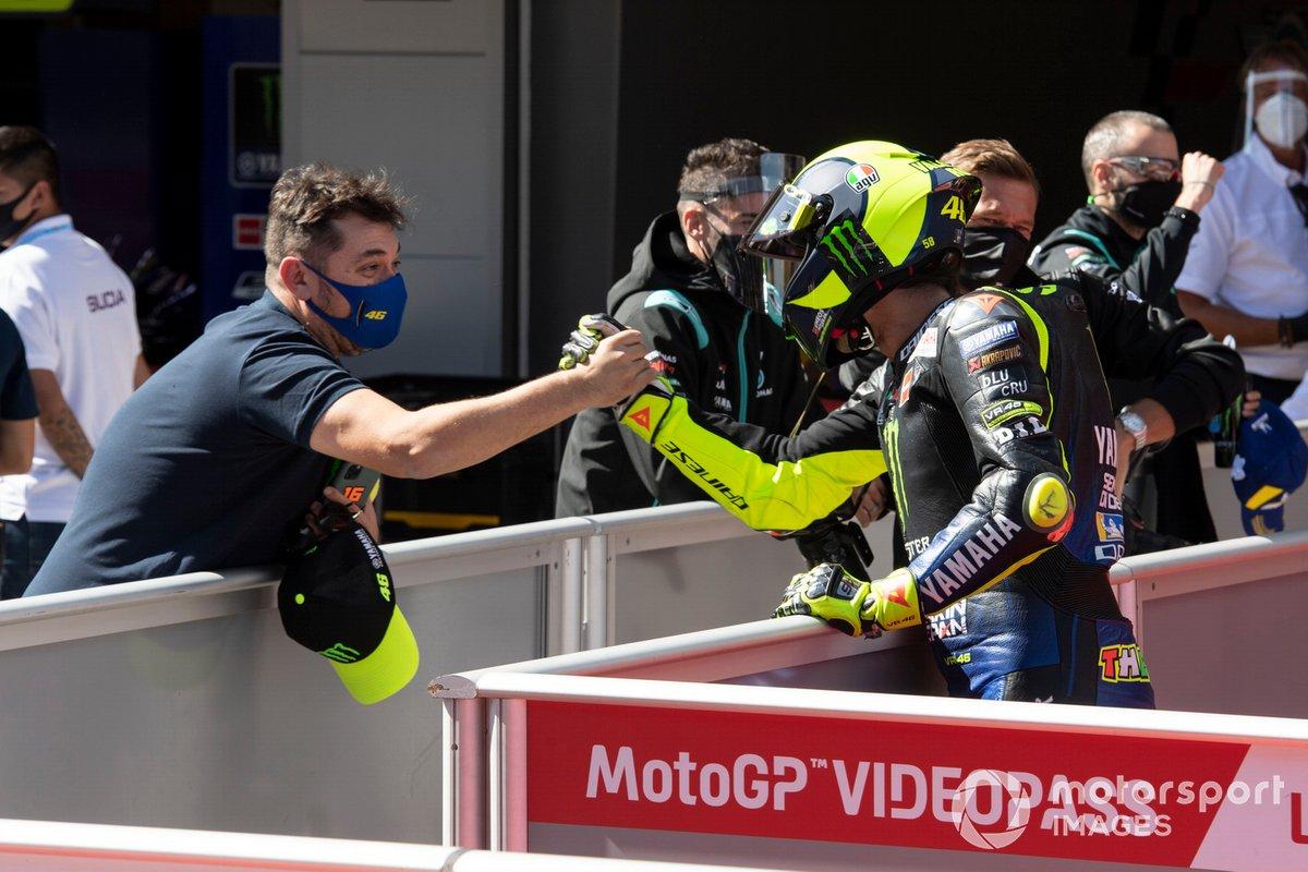 Tercer puesto Valentino Rossi, Yamaha Factory Racing
