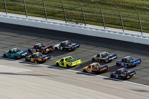 Ben Rhodes, ThorSport Racing, Ford F-150 Tenda Heal and Chandler Smith, Kyle Busch Motorsports, Toyota Tundra JBL