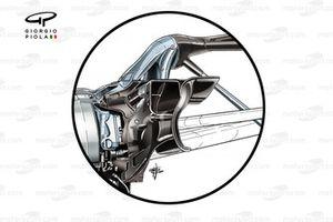 Red Bull RB16 rear suspension
