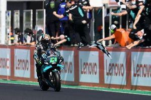 Franco Morbidelli, Petronas Yamaha SRT, wins